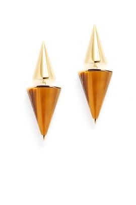 Double Dagger Earrings by Sarah Magid