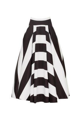 Stripe Romano Skirt by TY-LR