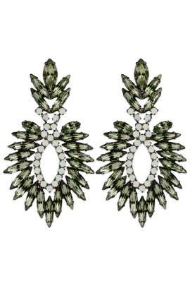 Elizabeth Cole - Jagged Feather Earrings