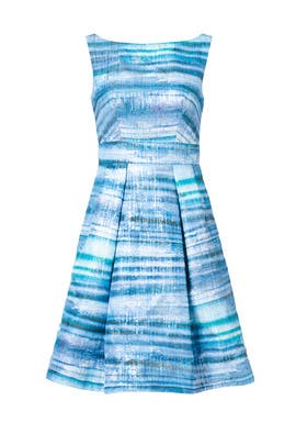 Blue Gradient Dress by Theia