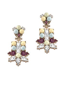 Floral Motif Earrings by Anton Heunis