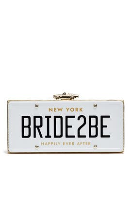 Wedding Belles Bride2Be Clutch by kate spade new york accessories