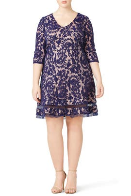 Adrianna Papell - Night Lace Dress