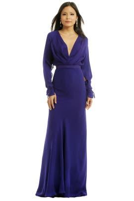 Juan Carlos Obando - Regal Amesthyst Gown
