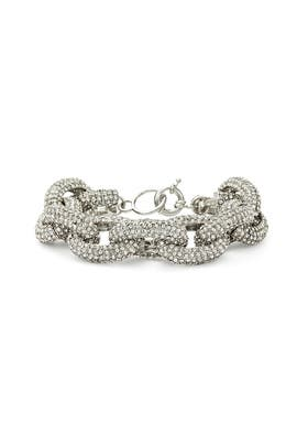 Slate & Willow Accessories - Platinum Record Bracelet