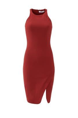 Crimson Bardot Dress by Elizabeth and James