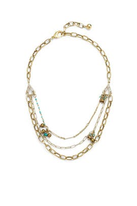 Discovery Charm Triple Necklace by Lulu Frost