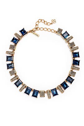 Blue Shadow Necklace by Oscar de la Renta