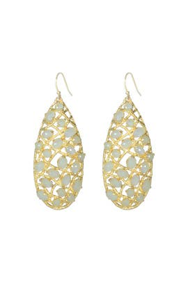Alexis Bittar - Honeydew Tapestry Earrings