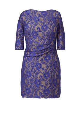 Blue Beauty Dress by Kay Unger