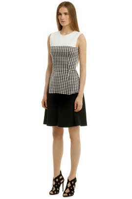 Narciso Rodriguez - Check Me Out Dress