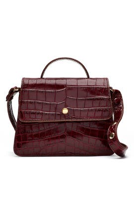 Red Eloise Mini Satchel by Elizabeth and James Accessories