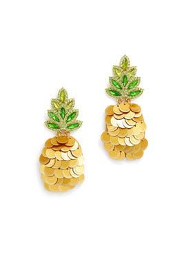 By The Pool Pineapple Studs by kate spade new york accessories