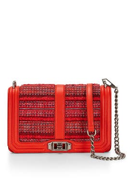 Poppy Red Love Crossbody by Rebecca Minkoff Handbags
