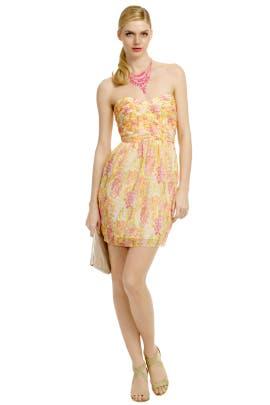 Shoshanna - Mango Tango Dress