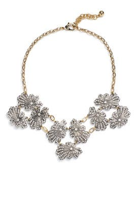 Silver Camellia Necklace by Lulu Frost