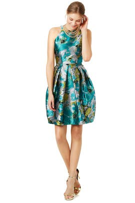 Impressionist Dress by Carmen Marc Valvo