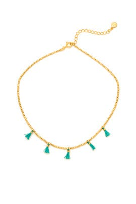 Playa Beaded Tassel Choker by Gorjana Accessories
