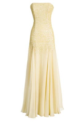 Shining Sun Gown by Halston Heritage