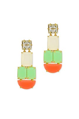 kate spade new york accessories - Neon Montage Earrings