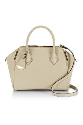 Khaki Mini Perry Satchel by Rebecca Minkoff Handbags