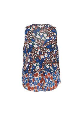 Poppy Floral Top by 10 CROSBY DEREK LAM