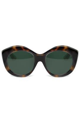 Tortoise Berkeley Sunglasses by Elizabeth and James Accessories