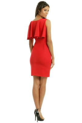 Osman - Back To Brit Cape Dress