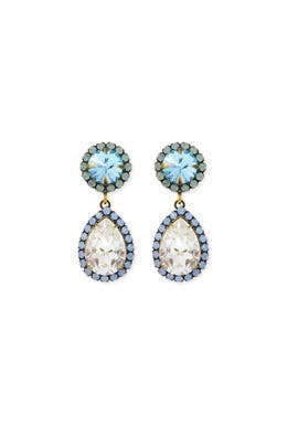 Blue Monaco Earrings by Dannijo