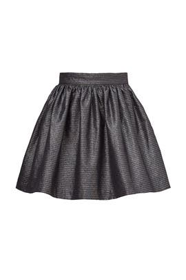 Silver Willa Mini Skirt by Joie