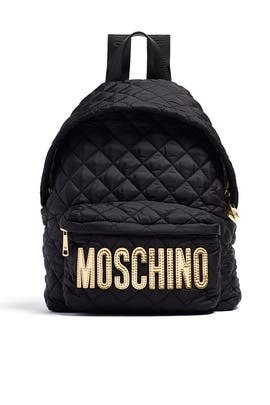 Quilt Me Up Backpack by Moschino Accessories