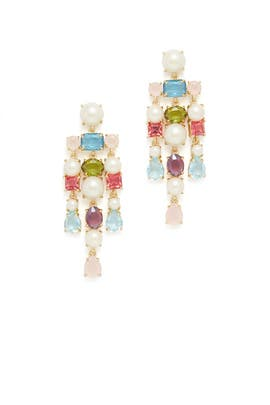 Multi Stone Earrings by kate spade new york accessories