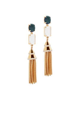 Fishtail Earrings by Lele Sadoughi