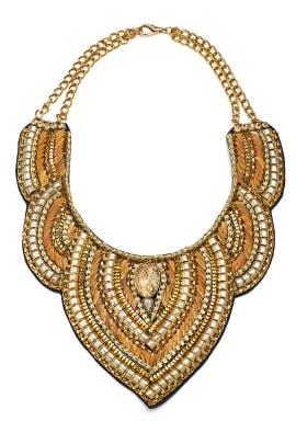 Odette Bib Necklace by Vie la V Accessories