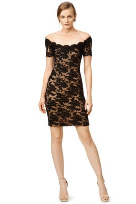 Vivian Lace Sheath by Reem Acra