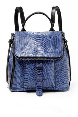 Blue Warren Backpack by Botkier