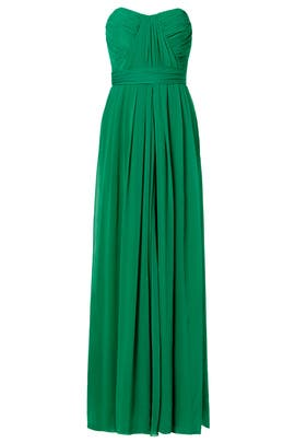 Badgley Mischka - Flora Chiffon Gown