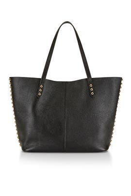 Black Unlined Tote by Rebecca Minkoff Handbags