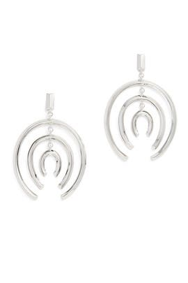 Mobile Hoop Earrings by Sarah Magid