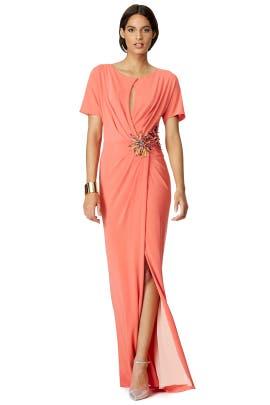 Blumarine - Beaded Colony Gown