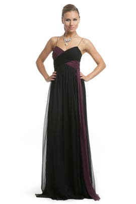 Robert Rodriguez Black Label - Bicolor Twist Gown