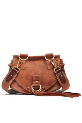 Terracotta Collins Large Crossbody Bag by See by Chloe Accessories