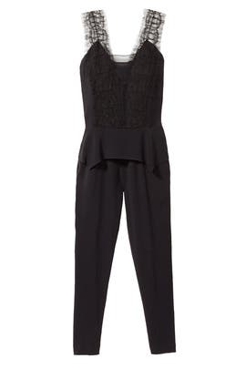 Peplum Jumpsuit by Thakoon