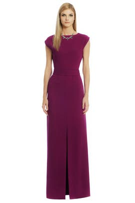 Raoul - Draped Back Belted Dress