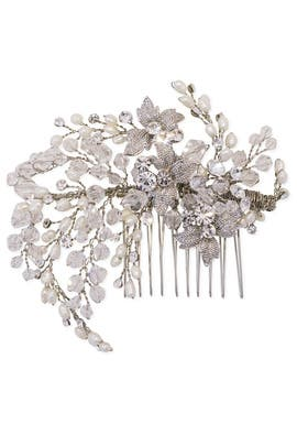 Luminous Laurel Comb by RTR Bridal Accessories