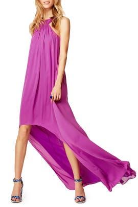 Halston Heritage - Orchid Sunrise Maxi Dress