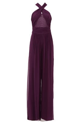 Purple Robbins Jumpsuit by Rachel Zoe