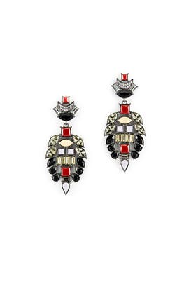 Majestic Earrings by Lizzie Fortunato