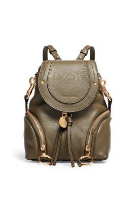 Green Olga Backpack by See by Chloe Accessories