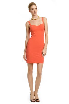 Z Spoke Zac Posen - Mercury Orange Sheath